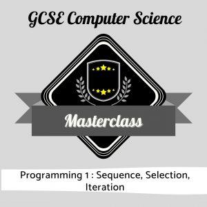 CS Masterclass - Programming 1