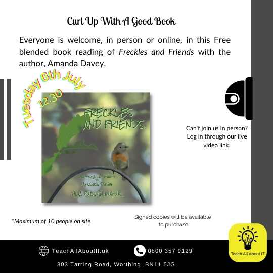 Freckles Book Reading